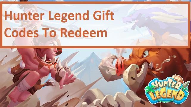 Hunter Legend Gift Code