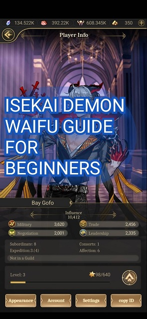 ISEKAI Demon Waifu Guide
