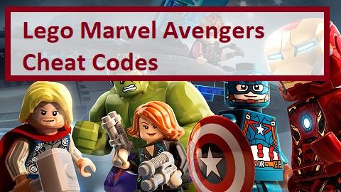 Lego Marvel Avengers Cheat Codes