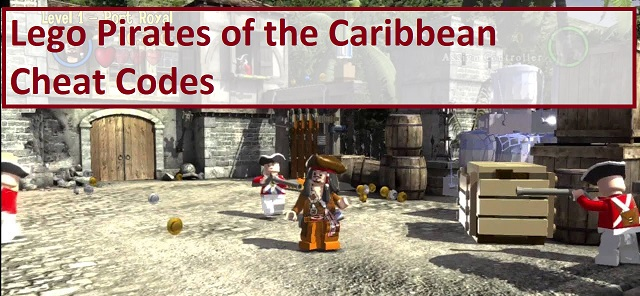 Lego Pirates of the Caribbean Codes