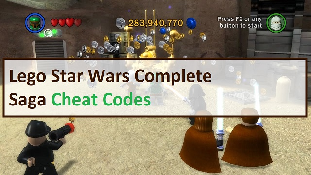 Lego Star Wars Complete Saga Cheat Codes