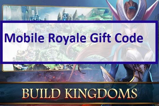 Mobile Royale Gift Code