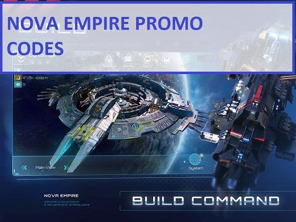 Nova Empire Promo Codes