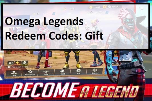Omega Legends Redeem Codes