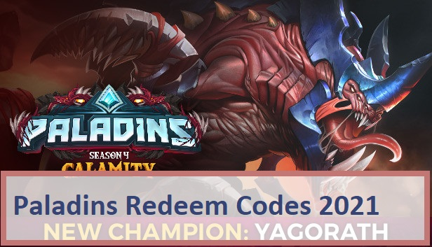 Paladins Redeem Codes