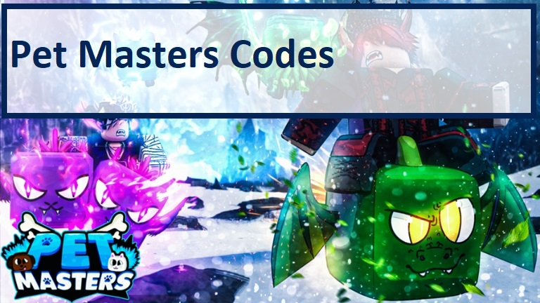 Pet Masters Codes Wiki