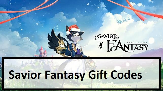 Savior Fantasy Gift Codes