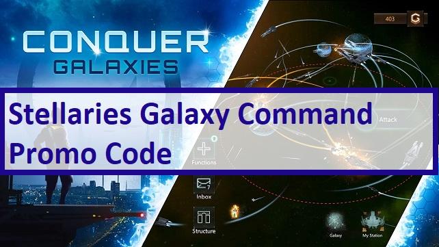 Stellaris Galaxy Command Promo Code