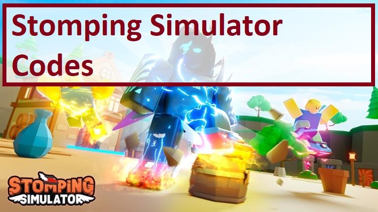 Stomping Simulator Codes