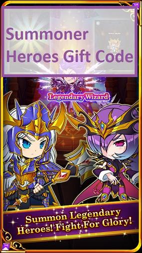 Summoner Heroes Gift Code