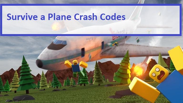 Survive a Plane Crash Codes Wiki