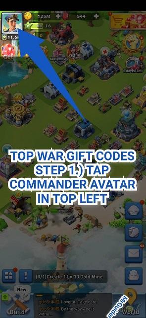 Top War Gift Codes