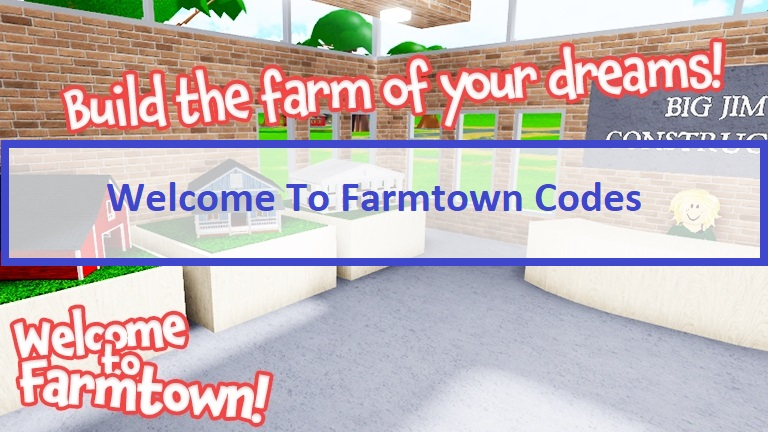 Welcome To Farmtown Codes Wiki
