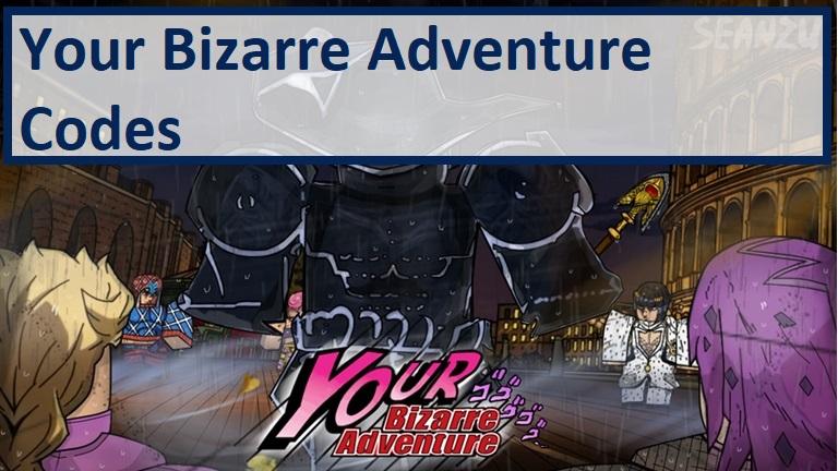 YBA Codes aka Your Bizarre Adventure Codes