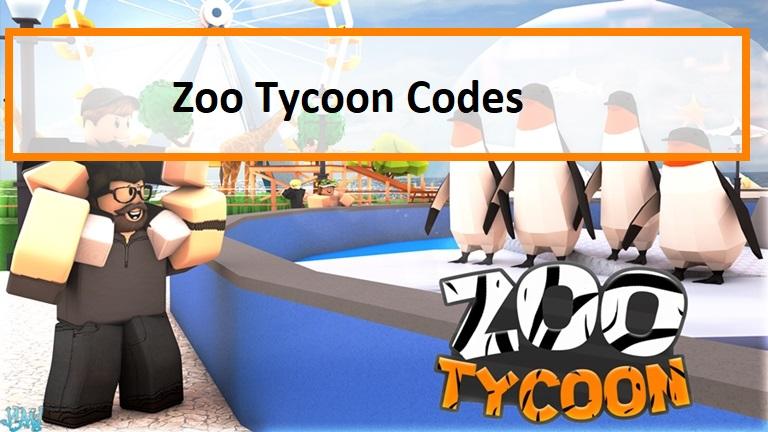 Zoo Tycoon Codes