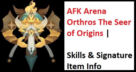 AFK Arena Orthros