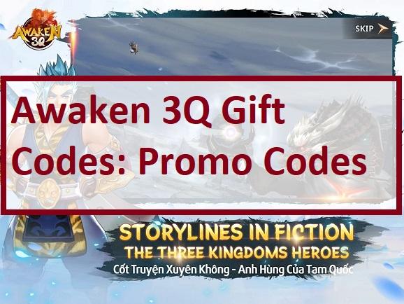 Awaken 3Q Gift Code Promo Codes