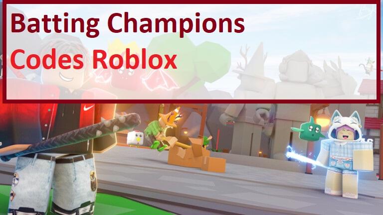 Batting Champions Codes Wiki Roblox
