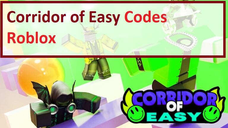 Corridor of Easy Codes Wiki Roblox
