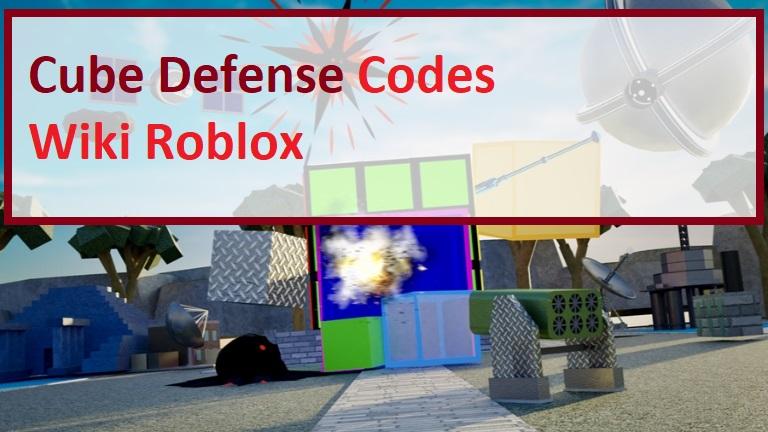 Cube Defense Codes Wiki Roblox