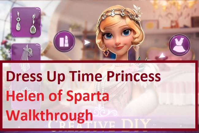 Dress Up Time Princess Helen of Sparta Walkthrough