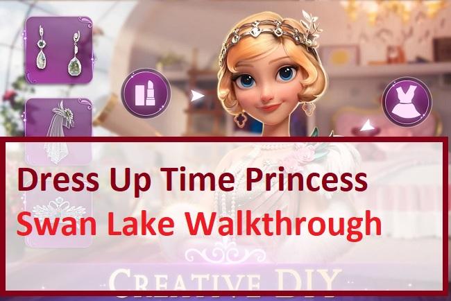 Dress Up Time Princess Swan Lake Walkthrough