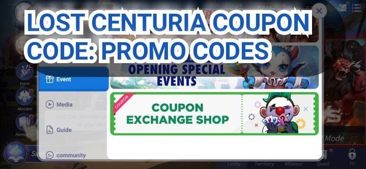 Lost Centuria Coupon Code Promo Codes