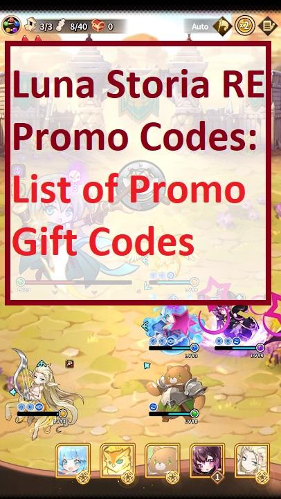 Luna Storia RE Promo Code