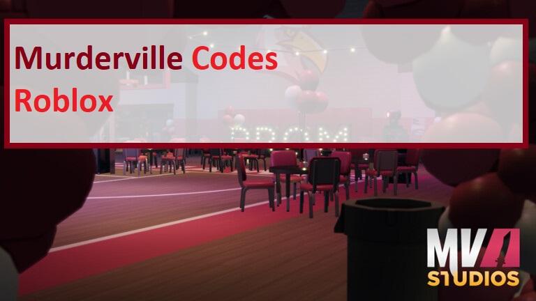 Murderville Codes Wiki Roblox