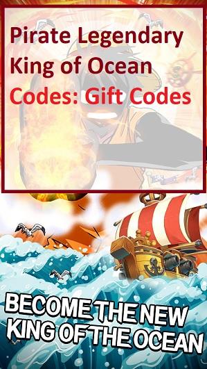 Pirate Legendary King of Ocean Codes