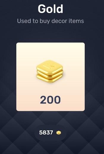 Redecor Gold Coins Cash