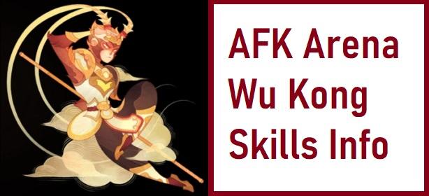 AFK Arena Wu Kong