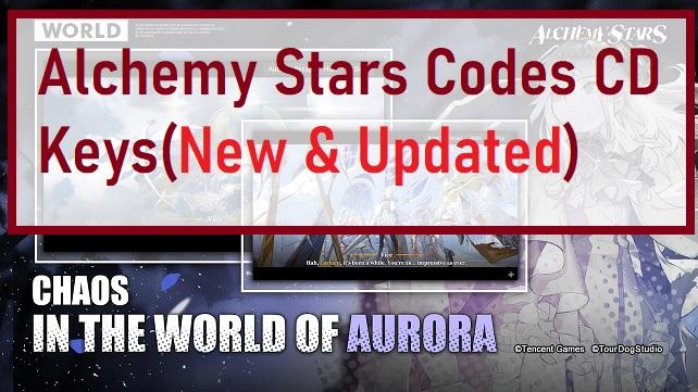 Alchemy Stars Codes CD Keys