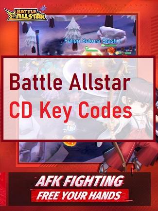 Battle Allstar CD Key Codes