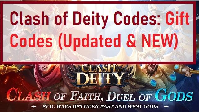 Clash of Deity Codes Gift Codes