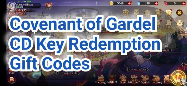 Covenant of Gardel Codes