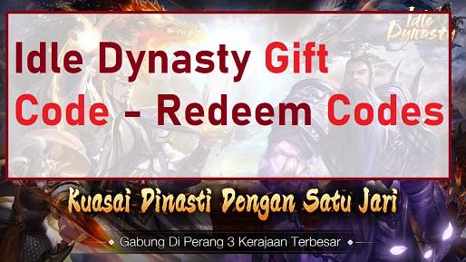 Idle Dynasty Gift Code - Redeem Codes