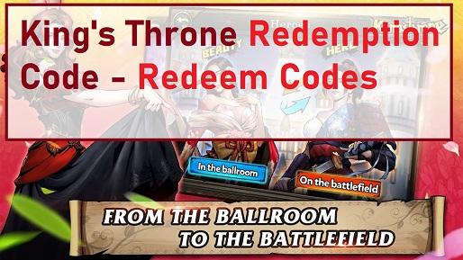 King's Throne Redemption Code - Redeem Codes