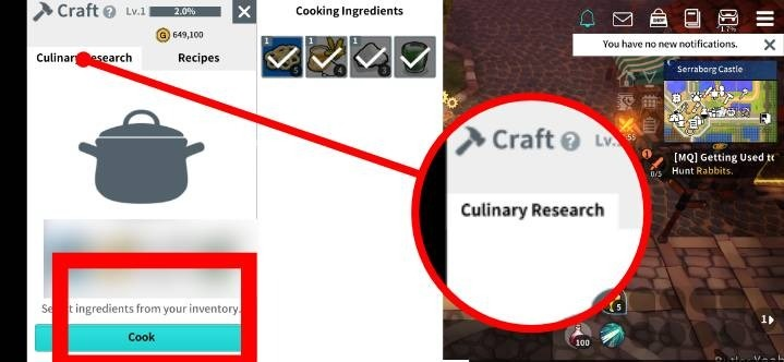 Moonlight Sculptor Recipes List & Cooking Guide