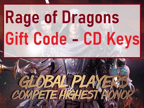 Rage of Dragons Gift Code - CD Keys
