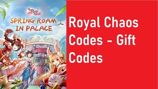 Royal Chaos Codes Gift Code