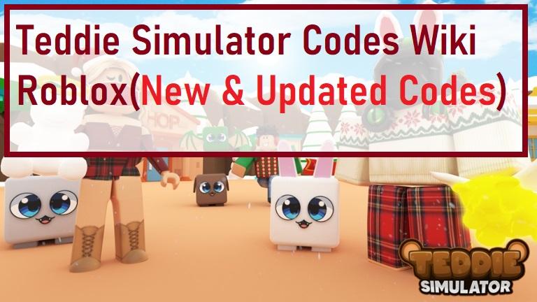 Teddie Simulator Codes Wiki Roblox