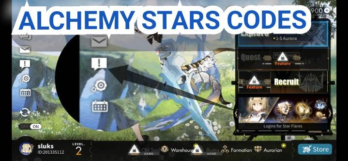 Alchemy Stars Codes Redeem