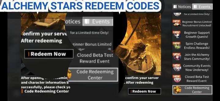 Alchemy Stars Codes
