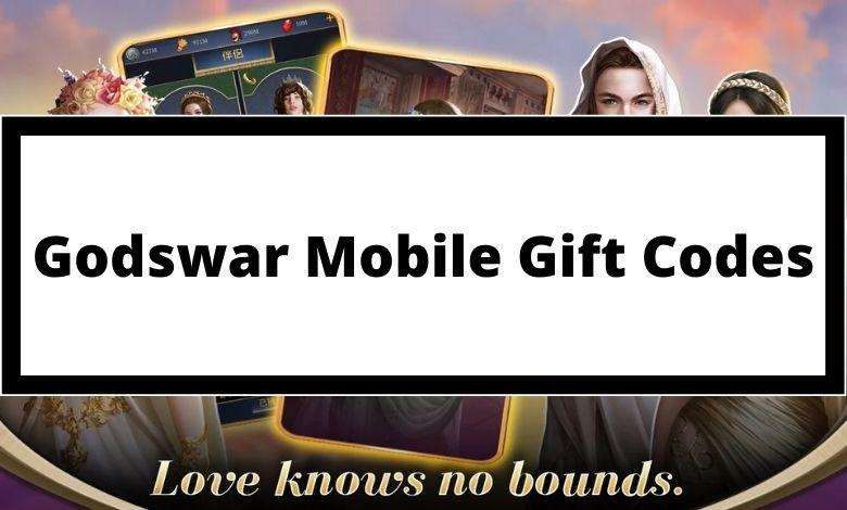 Godswar Mobile Gift Codes