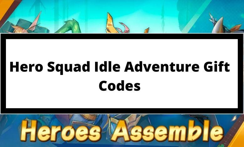 Hero Squad Idle Adventure Gift Codes