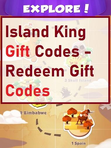 Island King Gift Codes