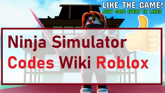 Ninja Simulator Codes Wiki Roblox