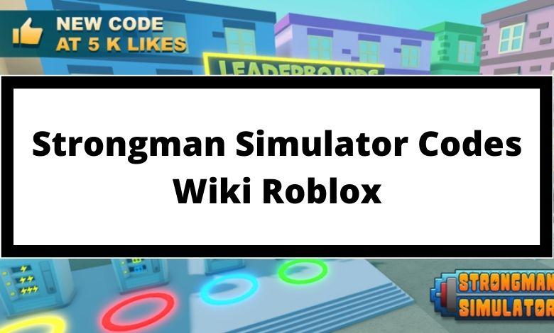 Strongman Simulator Codes Wiki Roblox