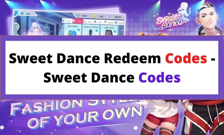 Sweet Dance Redeem Codes - Sweet Dance Codes